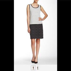 [St. John ] Caviar Popover Mod Dress